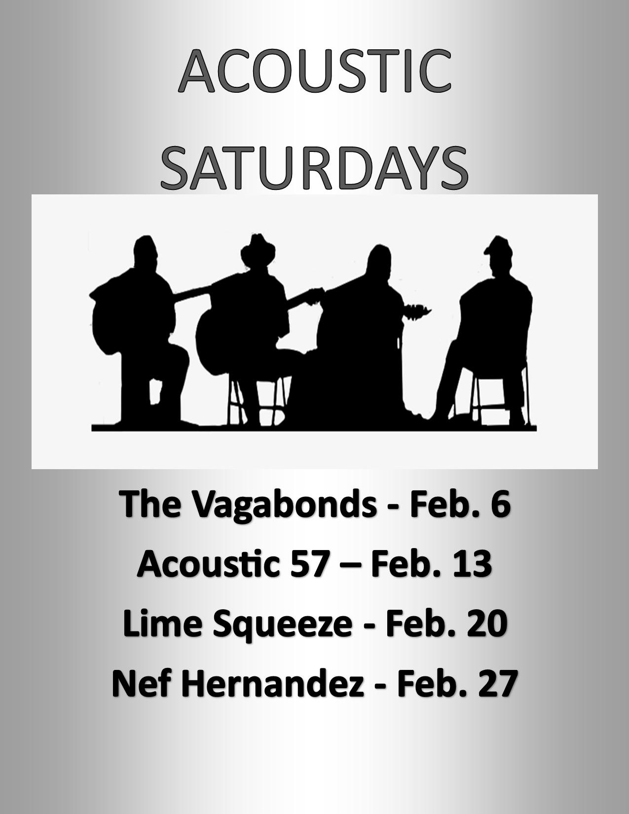 Acoustic Saturdays