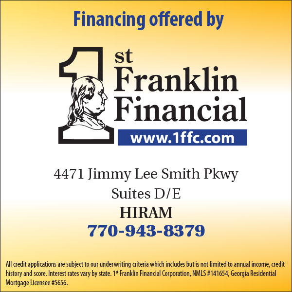Financing Available!