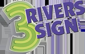 3 Rivers Sign LLC Logo