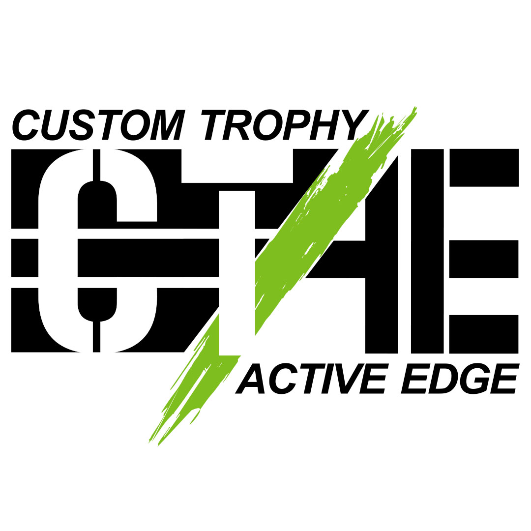 Custom Trophy / Active Edge Logo