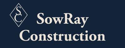 SowRay Construction Logo