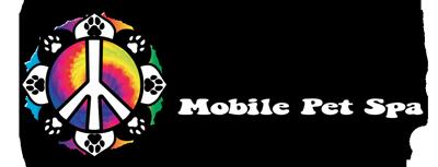 Peace Paws Mobile Pet Spa Logo