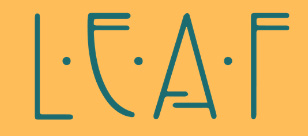 Leaf-Live Enlightened And Free Logo