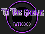 To The Grave Tattoo Co. Logo