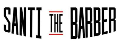 Santi The Barber Logo