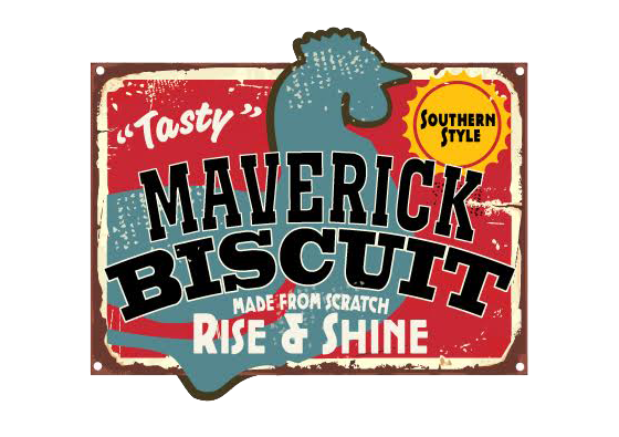 Maverick Biscuit Logo