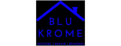 Blu Krome - Restore, Repair, Remodel Logo
