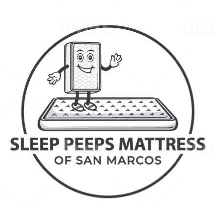 Sleep Peeps Mattress Of San Marcos Logo