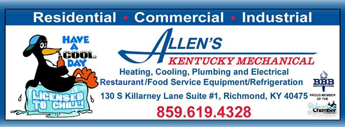Allen's Kentucky Mechanical Logo