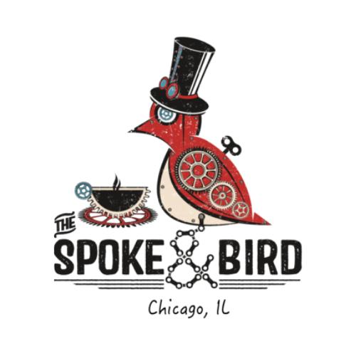 The Spoke & Bird Bakehouse (Pilsen) Logo