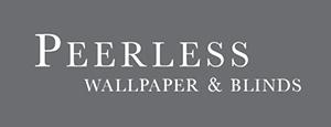 Peerless Wallpaper & Blinds Logo