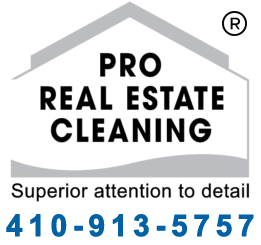 Pro Real Estate Cleaning Logo