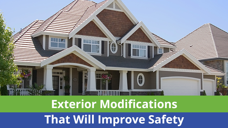 Exterior Modifications That Will Improve Safety