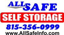 All Safe Self Storage Logo