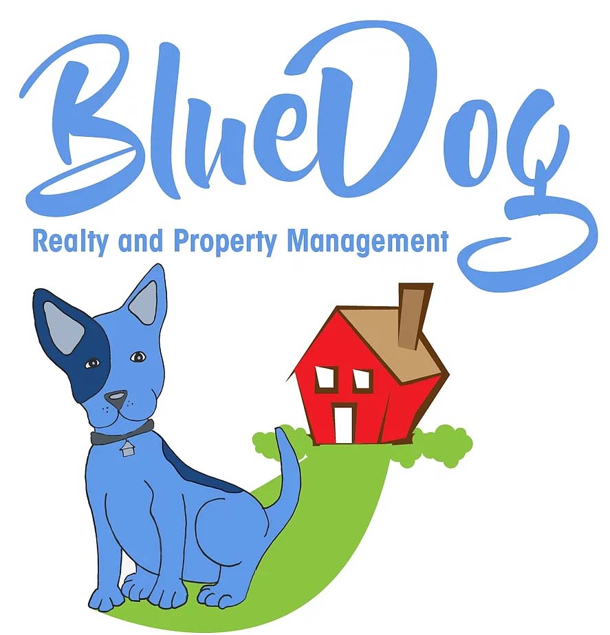 Blue Dog Realty And Property Management Logo