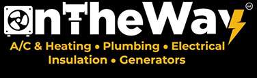 On the Way AC Plumbing & Electrical Logo