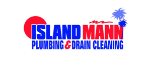 Island Mann Plumbing & Drain Cleaning Logo