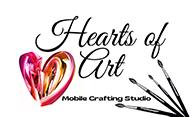 Hearts of Art Logo
