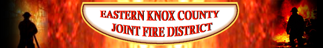Eastern Knox County Joint Fire District Logo