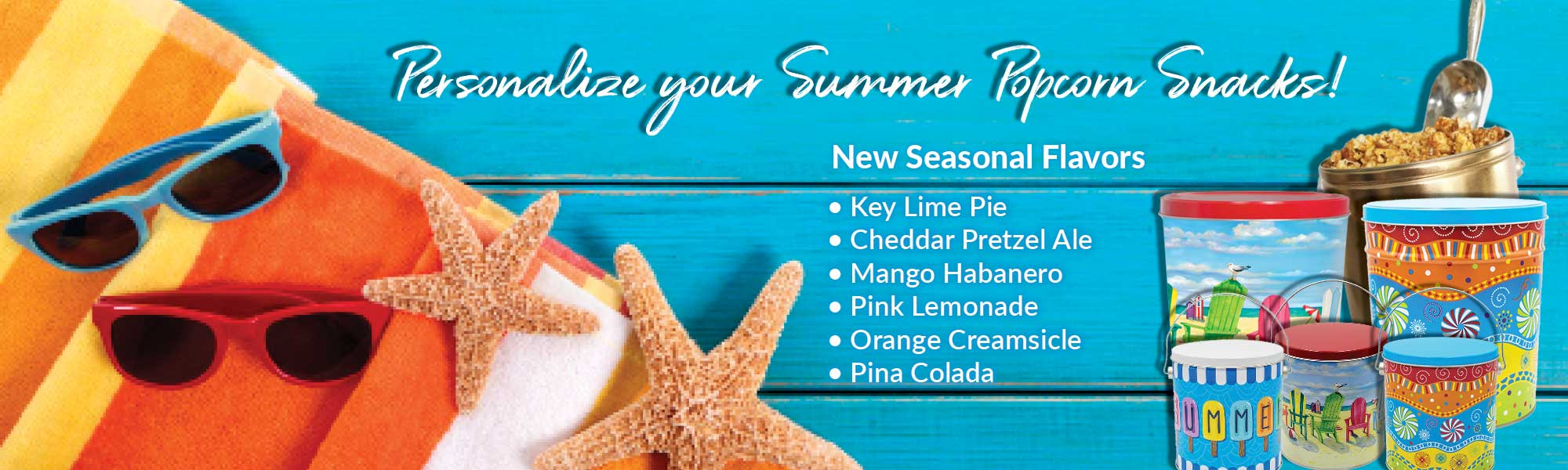 Personalize Your Summer Popcorn