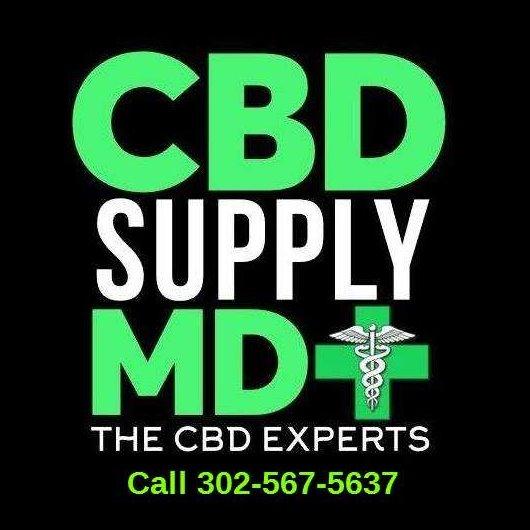 CBD Supply MD - Ocean City Logo