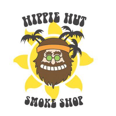 Hippie Hut Smoke Shop Logo