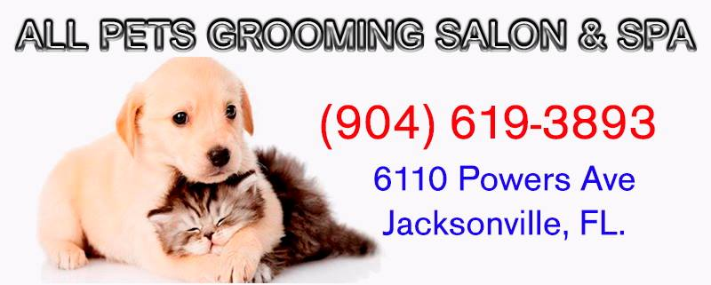 All Pets Grooming Salon Logo