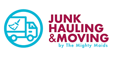 Junk Hauling & Moving by The Mighty Maids Logo