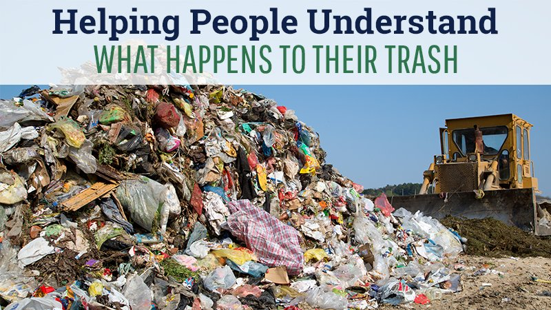 Helping People Understand What Happens to Their Trash