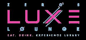 Zero's Luxe Lounge Logo