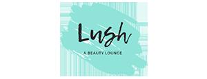 Lush: A Beauty Lounge Logo