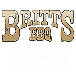 Britt's BBQ and Catering Logo