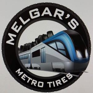 Melgar's Metro Tire Logo