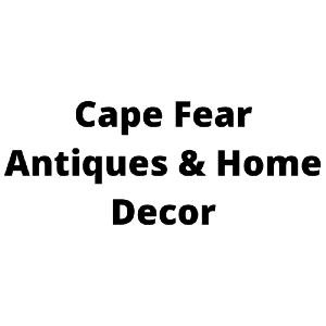 Cape Fear Antiques & Home Decor Logo