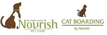 Nourish Pet Care & Cat Boarding Logo