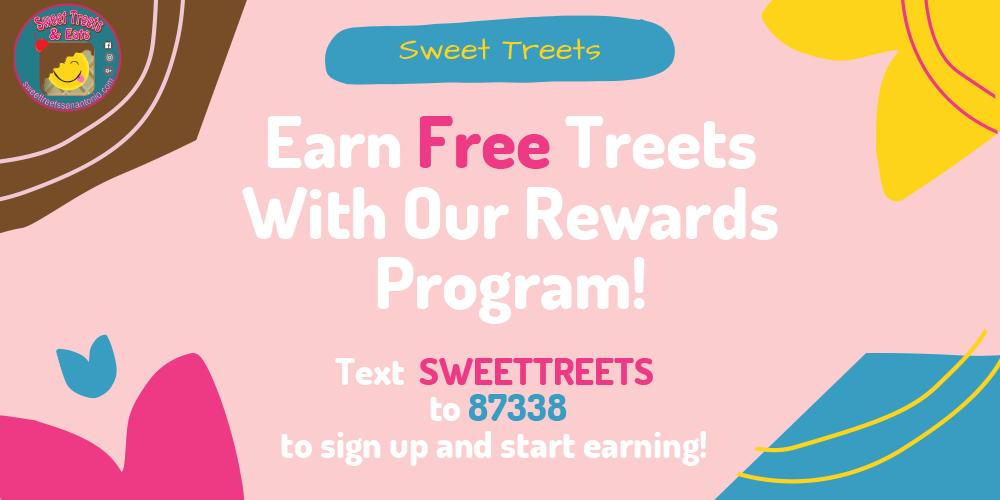 FREE Treats with Rewards Program