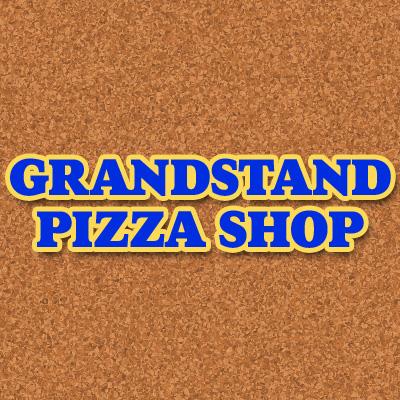Grandstand Pizza Shop Logo