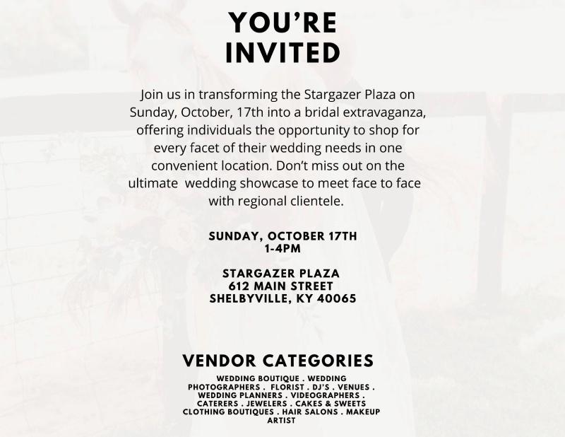 Vender Showcase October 17th