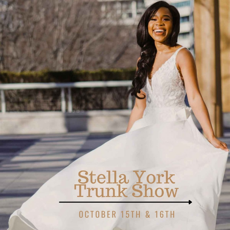 Trunk Show October 15th and 16th