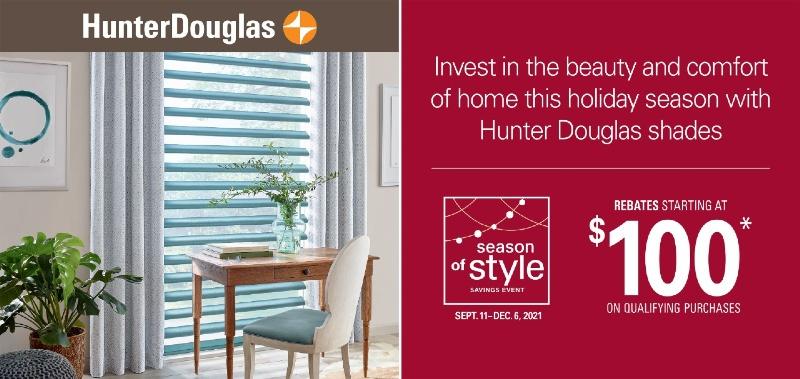 Hunter Douglas Special