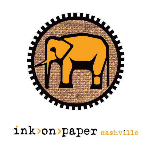 ink on paper Logo