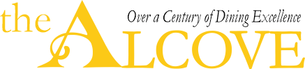The Alcove Restaurant & Lounge Logo