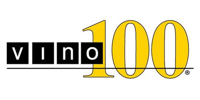 Vino 100 White Plains Logo