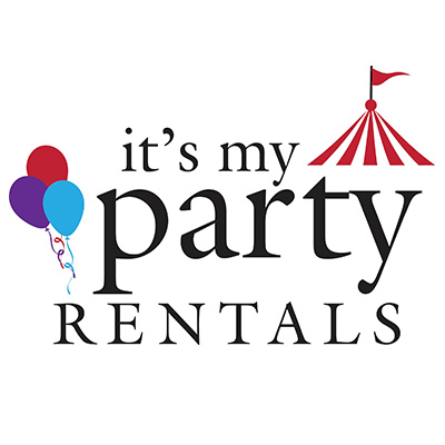 It's My Party Rentals Logo