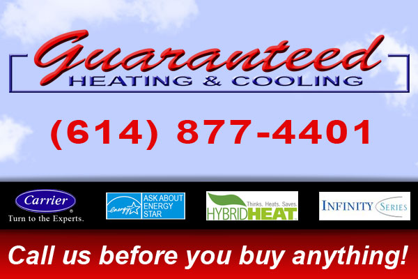 Guaranteed Heating & Cooling Logo