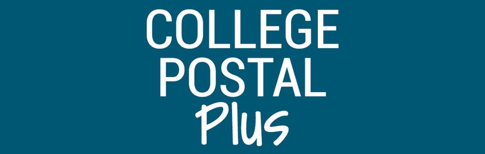 College Postal Plus Logo
