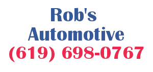 Rob's Automotive Logo