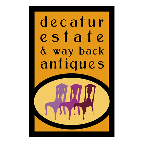 Decatur Estate & Wayback Antiques Logo