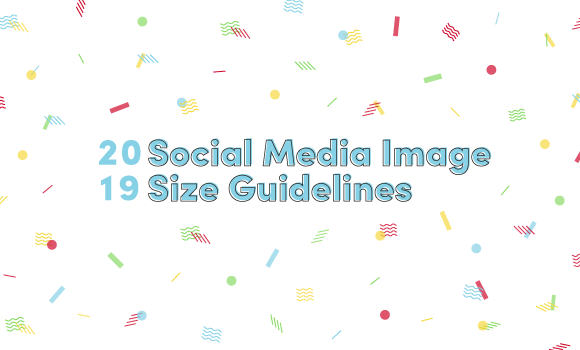 Your Social Media Image Sizes Cheat Sheet [Infographic]