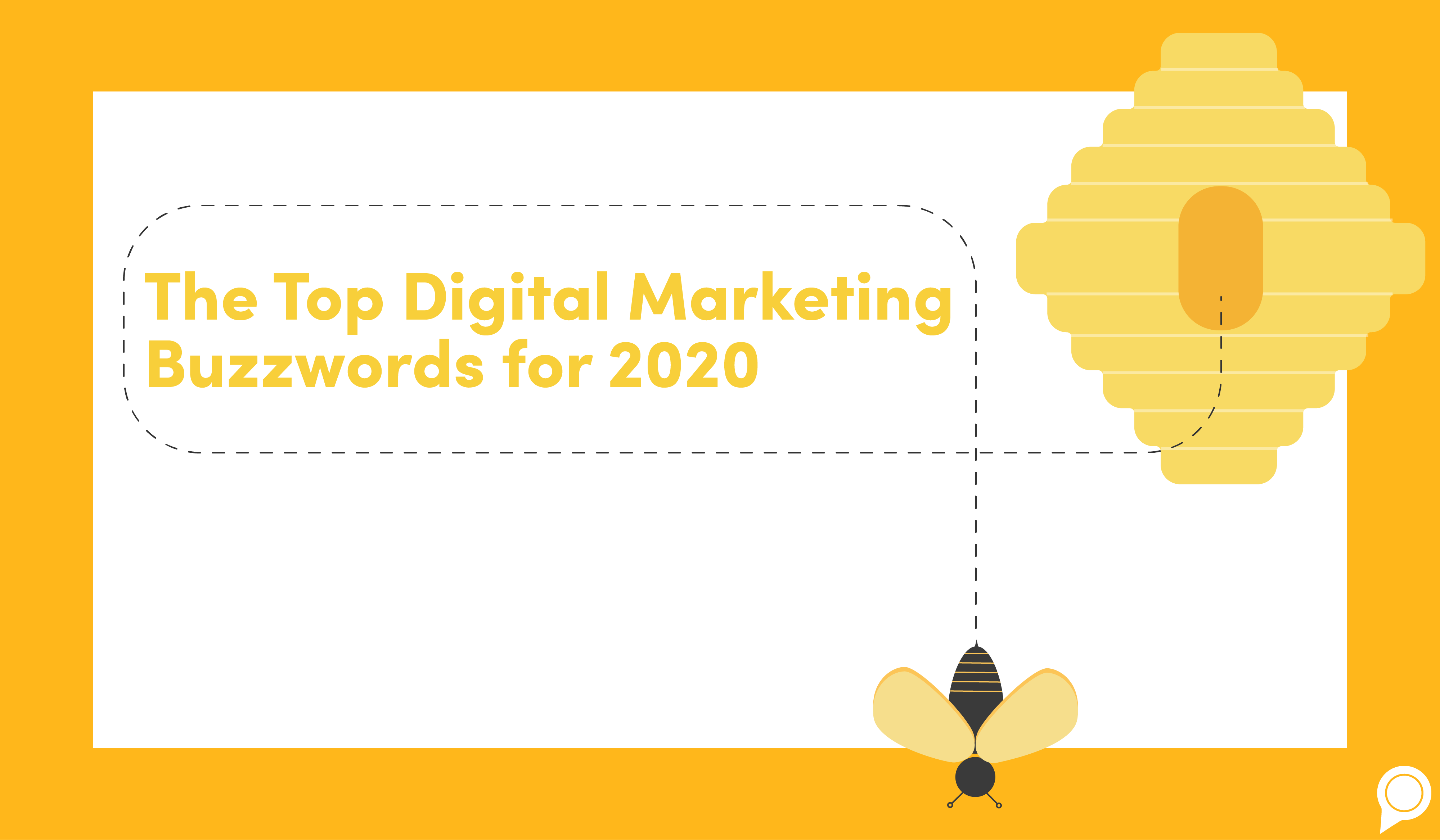 The Top Digital Marketing Buzzwords for 2020 [Infographic]